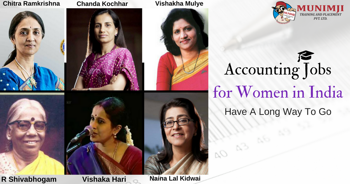 Accounting Jobs for Women in India Have A Long Way To Go