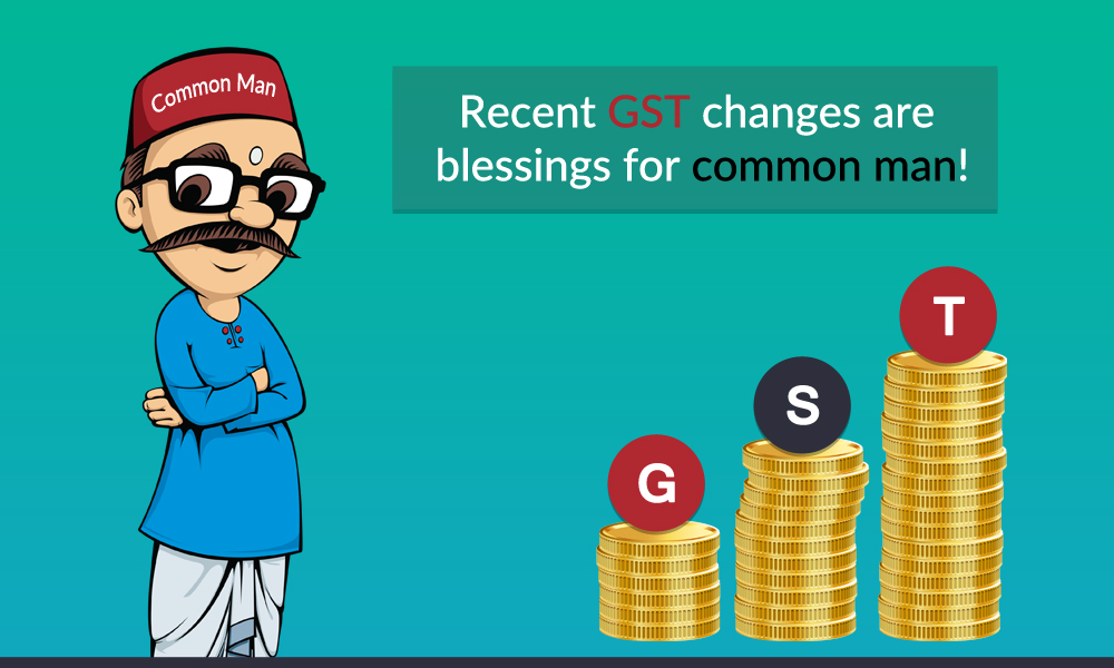 Impact of Recent GST Changes on Common Man